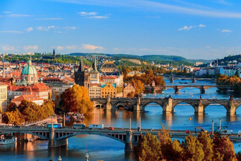Praga dove è situata