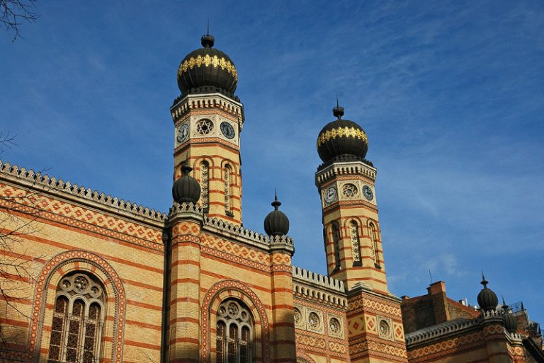 Gli orari della Sinagoga di Budapest