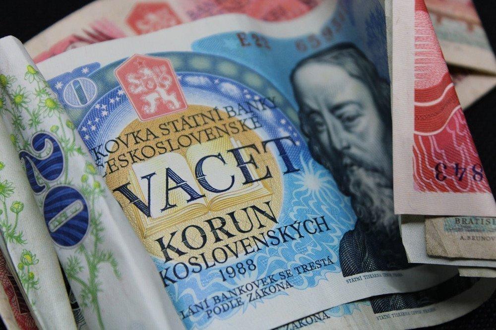 La valuta di Praga