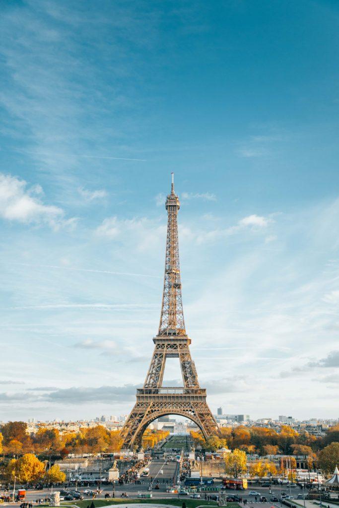Vedere la torre Eiffel