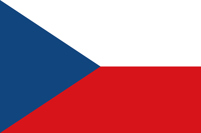 Bandiera ufficiale della Repubblica Ceca