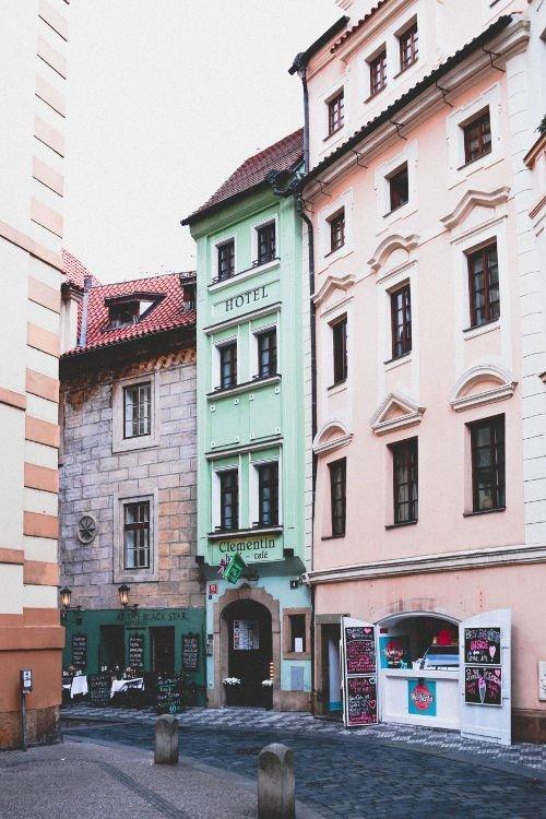 Praga città della Repubblica Ceca