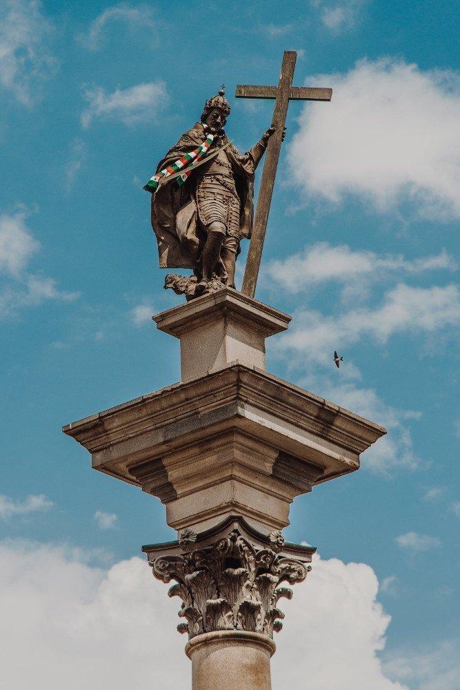 Vedere la colonna di Sigismondo a Varsavia