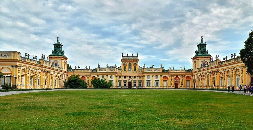 Vedere e visitare il Palazzo di Wilanow