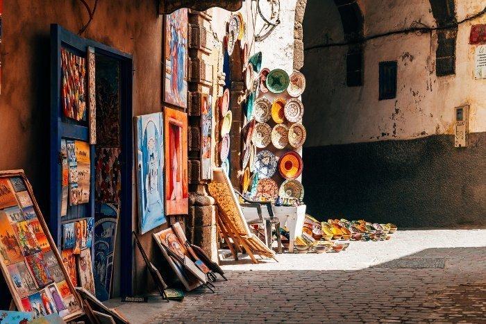 Pagare in contanti in Marocco