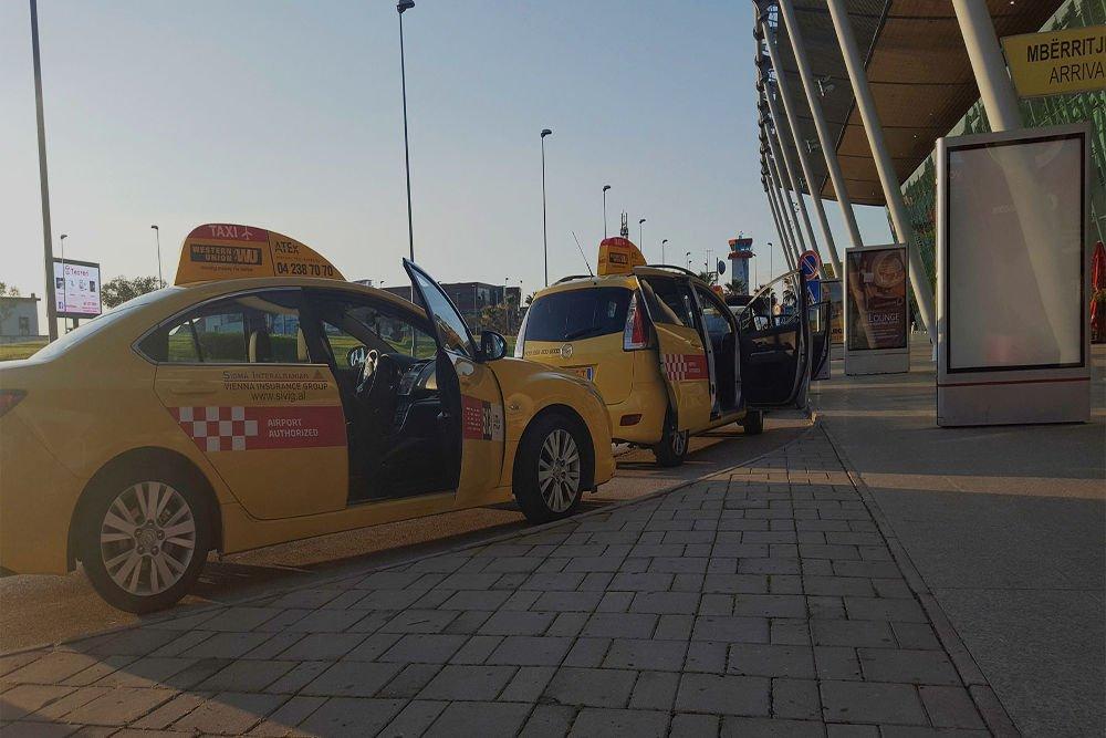 Taxi aeroporto Tirana in Albania