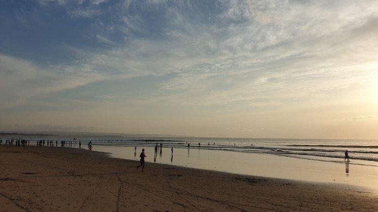 La spiaggia di Kuta Beach