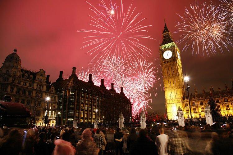 Ultimo dell'anno nella capitale inglese