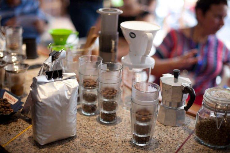 Caffè balinese a Ubud