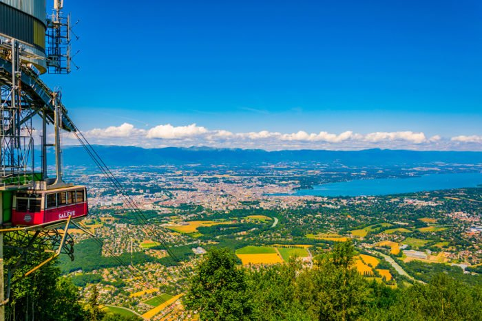 Visita panoramica su Ginevra