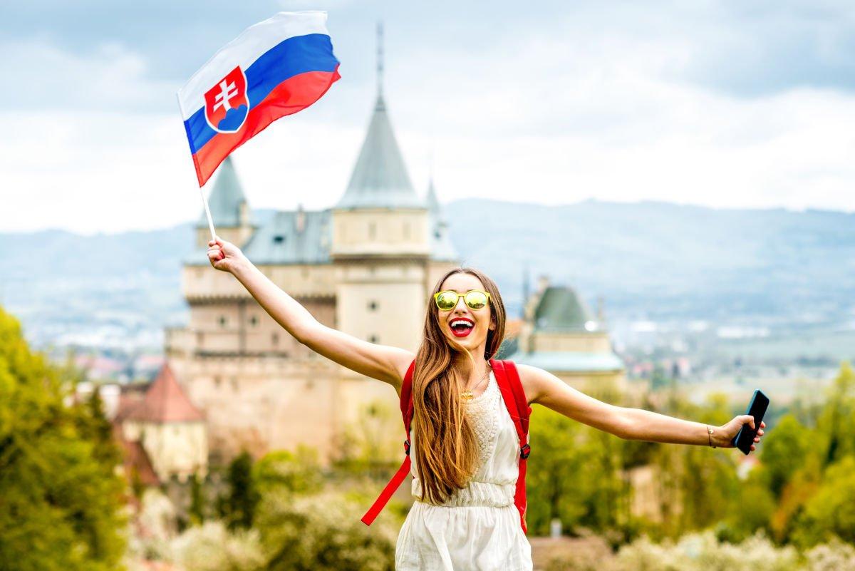 Com'è fatto il tricolore slovacco?