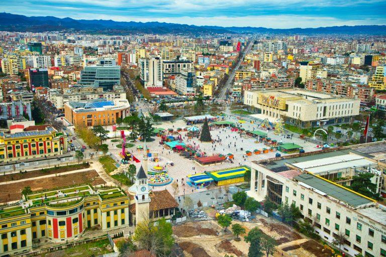 I luoghi turistici di Tirana