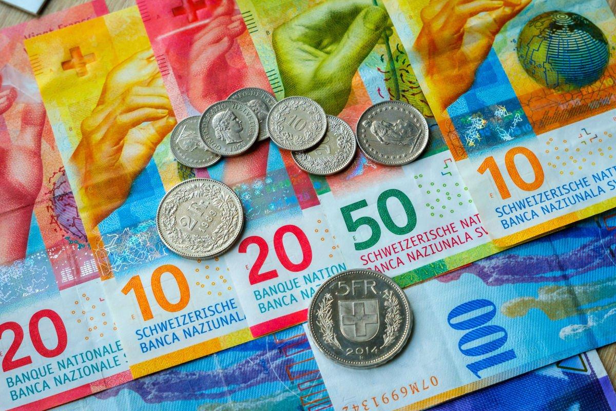 La valuta della Svizzera