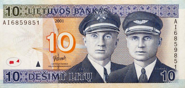 La moneta lituana era il Litas