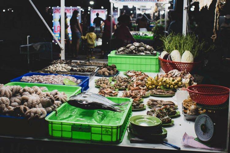 Vedere il mercato a Ubud