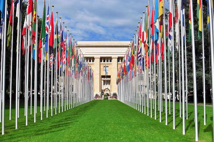 Visitare la sede dell'ONU a Ginevra