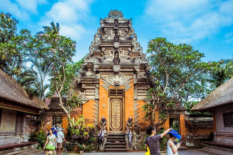 Visita al Palazzo di Ubud