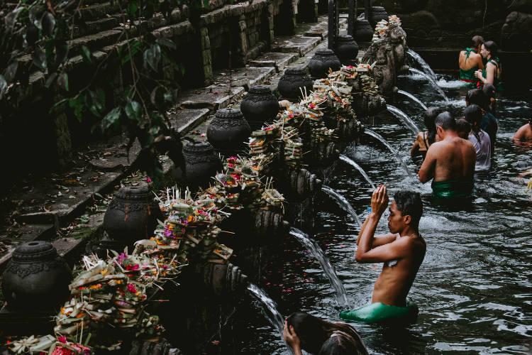 Fonte sacra di Ubud Bali