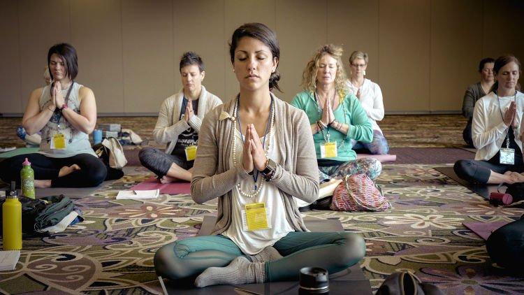 Fare yoga a Ubud