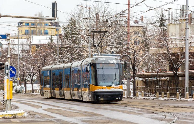 Metro e tram nella capitale bulgara
