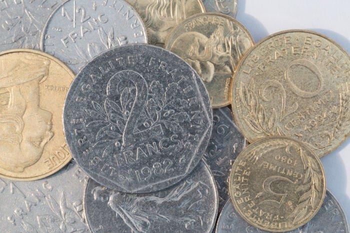 La moneta francese prima dell'Euro