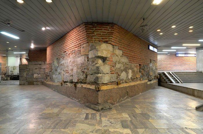 Antiche rovine romane in Bulgaria