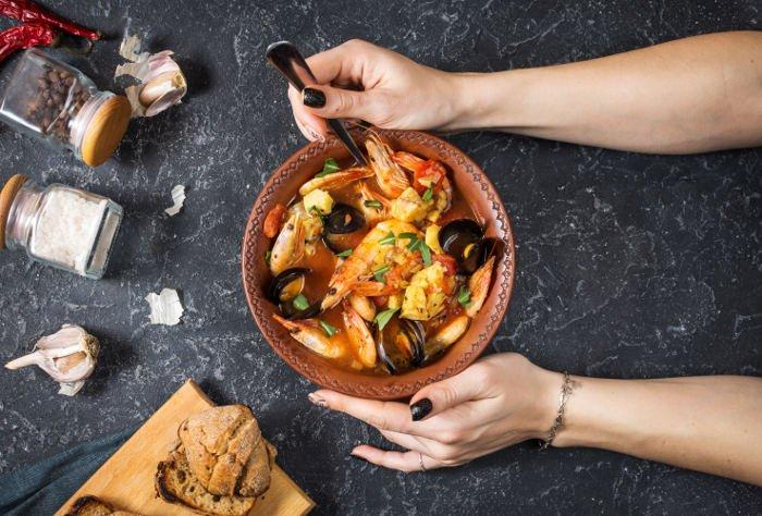 Specialità di pesce a Marsiglia