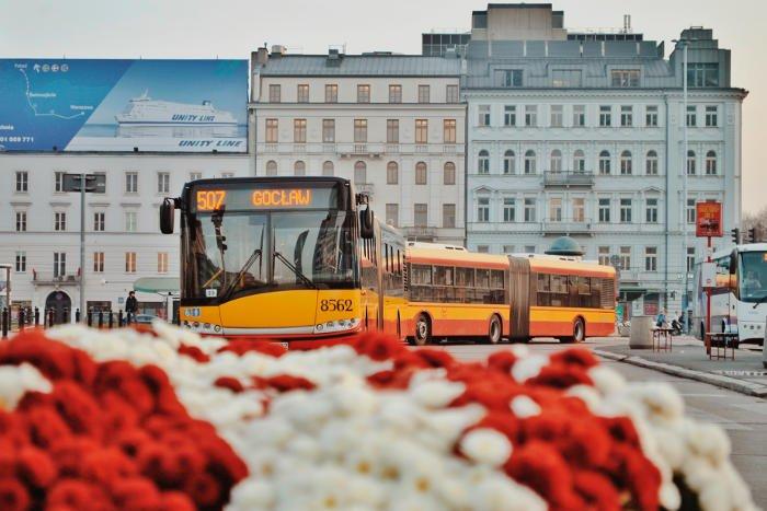 I mezzi pubblici di Varsavia
