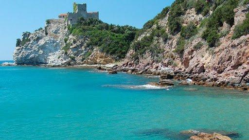 Spiaggia libera a Castiglione della Pescaia