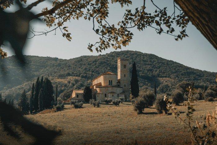 Montalcino borgo medievale