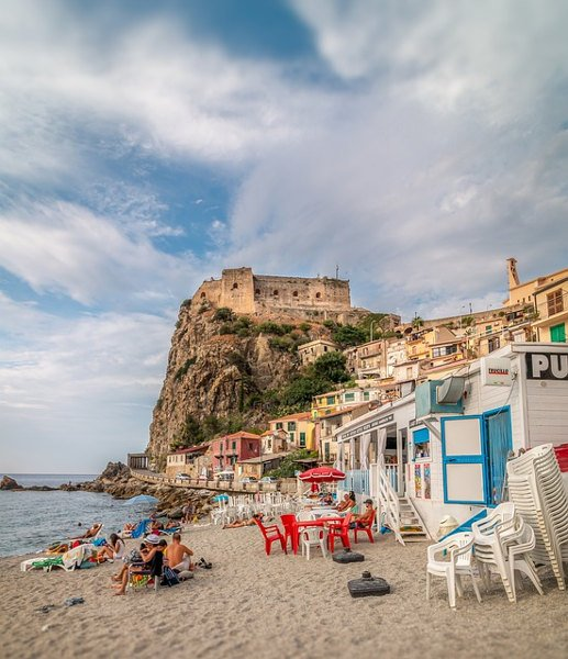 Scalea località balneare in Calabria