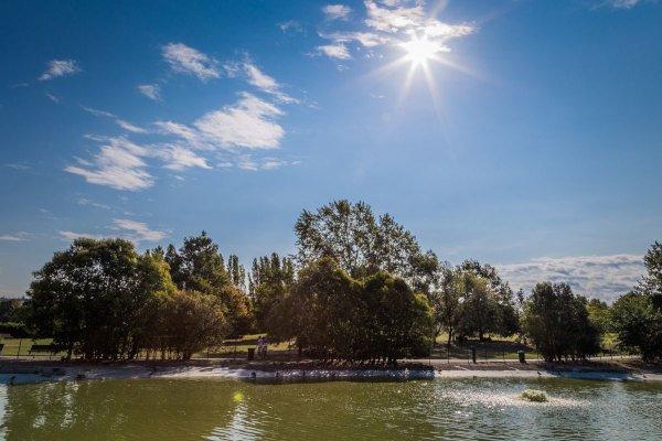 Il parco Franco Agosto a Forlì