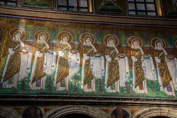 Rappresentazione bizantine a Ravenna