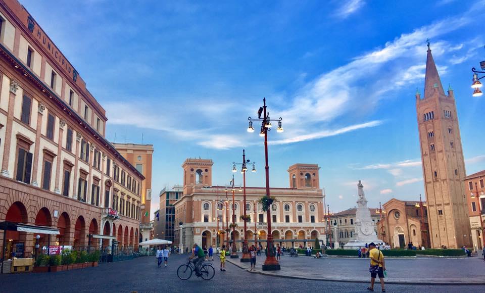 Piazza principale di Forlì