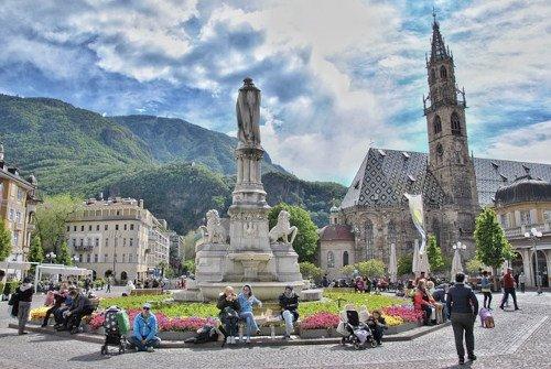Le piazze più belle di Bolzano