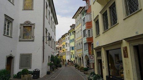 Vie di Bolzano da scoprire