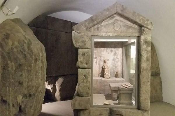 Il museo degli etruschi a Viterbo
