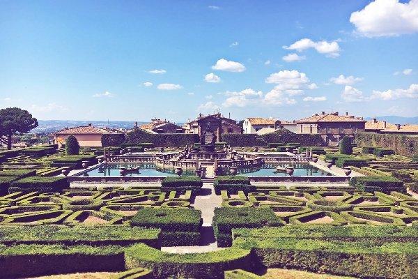 Visitare le ville di Viterbo