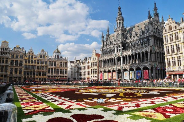 Visitare Le Grand Place a Bruxelles