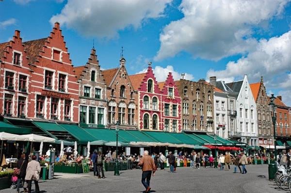 Mercato cittadino di Bruges