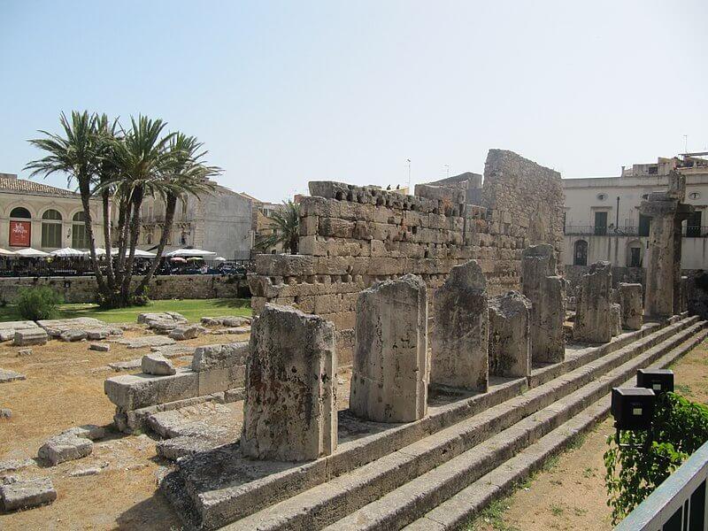 Tempio di Apollo e le cose da vedere a Siracusa