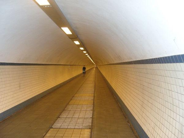 Tunnel sotterraneo di Anversa