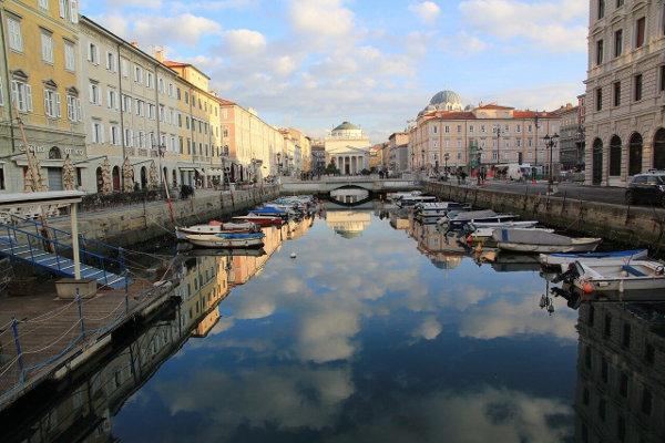 Canal Grande e le cosa più belle da visitare a Trieste