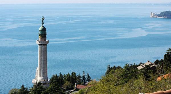 Faro della vittoria e le cosa più belle da visitare a Trieste