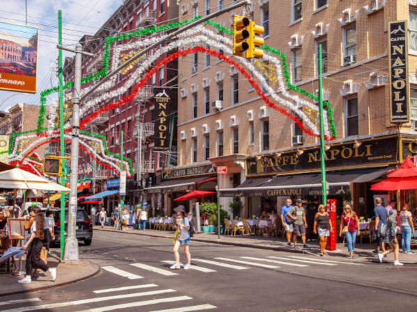 Quartiere italiano a New York