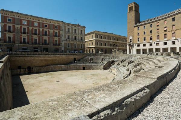 Scopri l'anfiteatro a Lecce