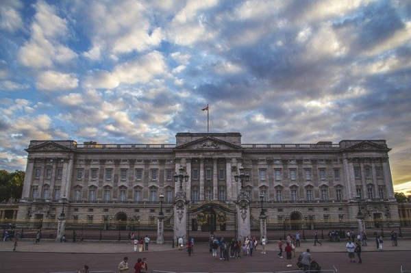 Palazzo della regina a Londra