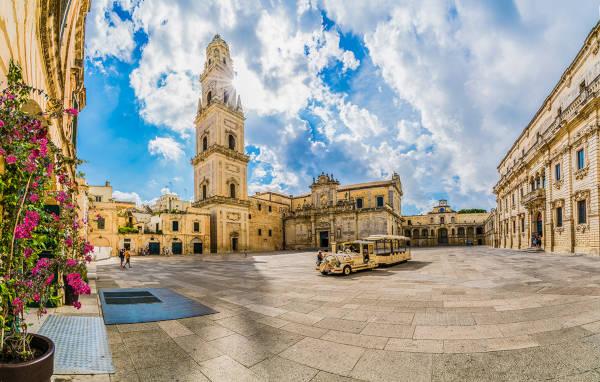 Città vecchia a Lecce