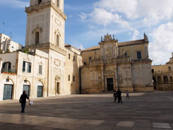 Piazza principale a Lecce