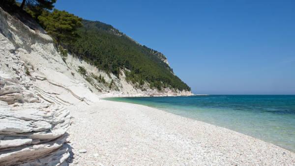 Spiaggia vicino Sirolo